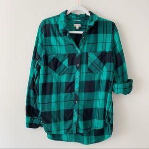 Target America Flannel Button Up